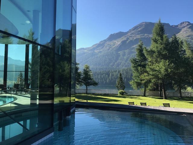 La «Grande Dame» de St Moritz, Suisse