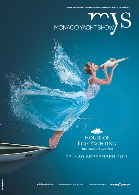 Monaco Yacht Show, September 27-30, 2017