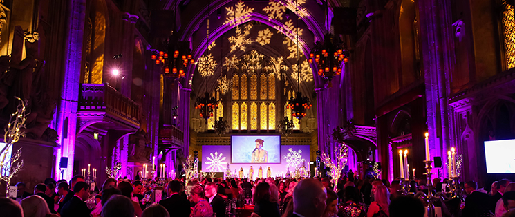 Macmillan Winter Gala, Novembre 29,  2017 Guildhall London