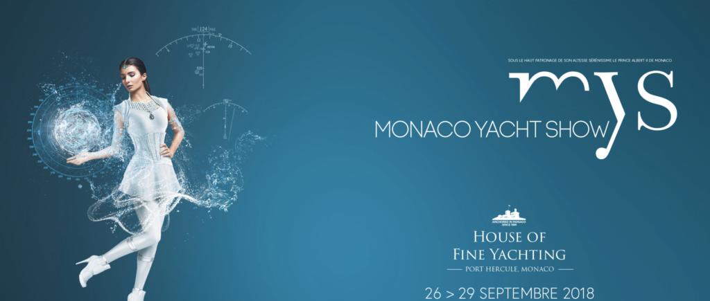 Monaco Yacht Show September 26-29, 2018